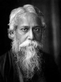 Rabindranath Tagore born Robindronath Thakur