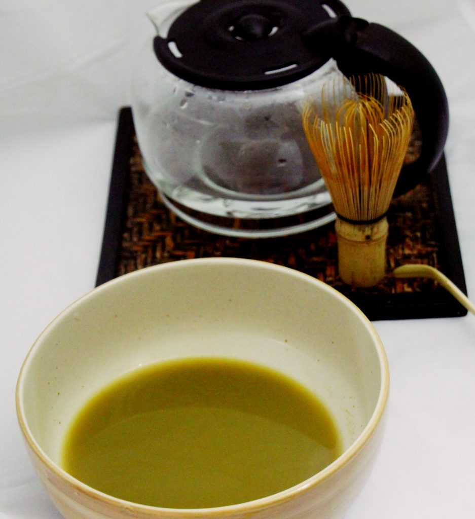 The ready matcha, however it needed more whisking for foam.